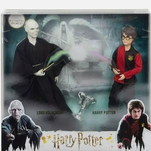 Harry Potter and Lord Voldemort Dolls